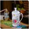 礼品陶瓷茶杯定制 公司活动茶杯定制 骨瓷茶杯 定制骨瓷茶杯