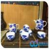 定做商务礼品陶瓷茶具