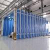 北京环保设备移动伸缩喷漆房专业厂家  家具行业喷漆房