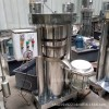 立式液压不锈钢香油机  商用中大型的全自动芝麻榨油机