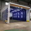 郑州钢结构伸缩喷漆房厂家