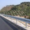 广东厂家供应热镀锌防护波形护栏 高速路专用双波护栏