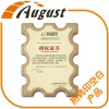 厂家直销 热转印空白工艺摆件新款木质金色奖牌背板标牌