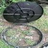(厂家直销)井盖 铸铁井盖 排水沟盖板 球墨铸铁井盖