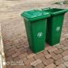 户外120升铁质垃圾桶 乡村街道专用垃圾桶
