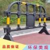 厂家现货供应1.4/1.5塑料胶马护栏 道路防护防撞塑料护栏