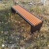公园长凳 实木平凳 铸铝长条椅凳 现货供应