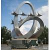 加工制作厂 公园不锈钢抽象飞雁雕塑