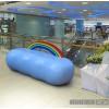 玻璃钢彩虹云朵坐凳 儿童乐园异形座椅雕塑