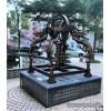 浙江金属仿铜模型浑天仪雕塑 历史教学主题摆件