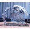 上海公园不锈钢圆形拼接雕塑 厂家直销镜面摆件