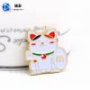 创意招财猫徽章|烤漆动漫招财猫|年底定制发财猫