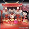 春节2020鼠年雕塑 商场老鼠摆件上海