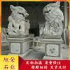 门庭装饰石雕狮子 现货直销石狮子 花岗岩石雕狮子 福建厂家