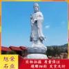 古建景区观音佛像 石雕观世音像 石材三十三观音形象造型