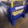 全自动彩钢压瓦机840900双层压瓦机冷弯成型机