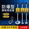 人体静电释放器静电消除器触摸去除人体静电释放球工业防静电产品
