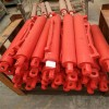 矿用支架千斤顶液压支架双伸缩立柱的组成部分及结构
