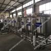 小型牛奶加工生产犀鲜奶巴氏消毒机,牦牛奶杀菌成套机器