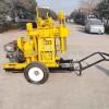 100米拖车式岩心钻机 小型全液压地勘钻机