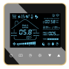 新风智能控制器,配带pm2.5传感器郝湿度显示